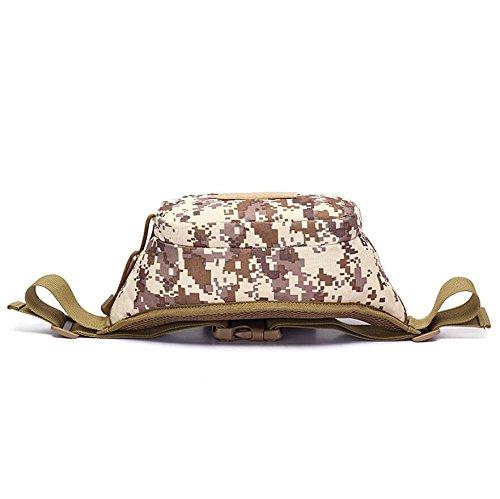 Z&N Outdoor Sport laufende Taschen Reiten Wandern Kopfhörertaschen Taktik Tarnung Camping Schultertasche Urlaubstasche A