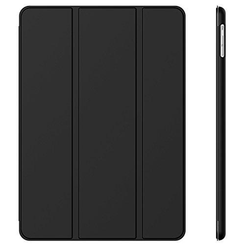 JETech iPad Air Slim-Fit Smart Case Hülle Schutzhülle Tasche mit Ständer Funktion und Auto-Einschlaf/Aufwach für Apple iPad 5 (Schwarz)