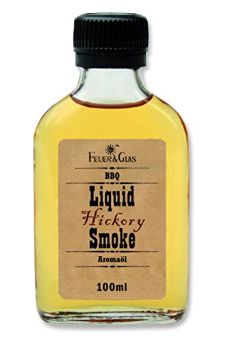 Feuer & Glas Hickory Liquid Smoke, 1St. à 100 ml
