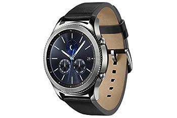 Samsung Gear S3 Classic (3,3 Cm (1,3 Zoll) Display, Nfc, Bluetooth, Wlan, Tizen Os), Mit Echtleder-armband 4