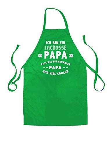 Ich bin ein Lacrosse Papa - Unisex Schürzen -