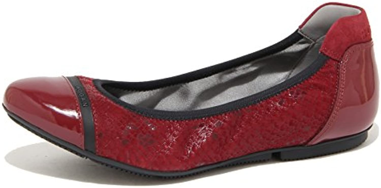 9348N ballerina HOGAN WRAP 144 bordeaux scarpe donna shoes woman