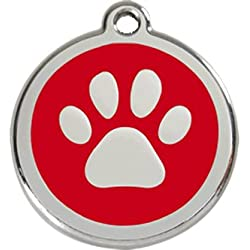 Red Dingo Médaille pour Chien Rouge Patte 38 mm