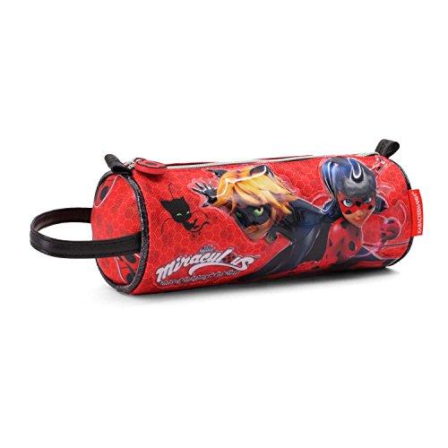 Ladybug defenders astuccio, 22 cm, rosso (rojo)