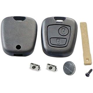 Reparatursatz für Peugeot 307/Citroen Schlüssel - 2 Tasten Renovierung