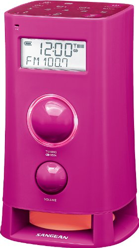 Sangean K-200 L Alarm-Radio (UKW/MW Tuner, LCD) - Cd-player-wecker Für Mädchen