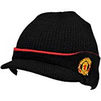 Manchester United FC Official Gift Knitted Bronx Beanie Hat (RRP £9.99!) ea1b2a5c0
