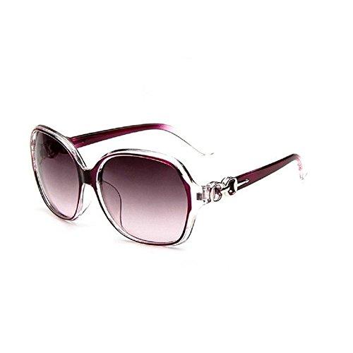 Westeng Frauen polarisierten Sonnenbrillen Dame Brillen mit großem Rahmen UV 400 Schutz für das Fahren / Angeln / Golf,Lila