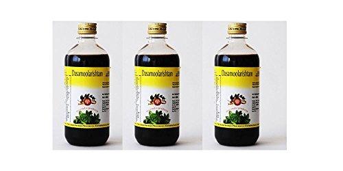 The Arya Vaidya Pharmacy The Arya Vaidya Pharmacy AVP Dasamoolarishtam Allgemeine Tonic Packung mit 3 (450 ml) (Schwangerschaft Tonic)