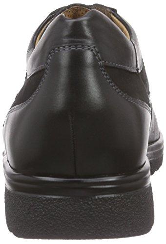 GanterERIC, Weite G - Scarpe stringate Uomo Nero (noir (schwarz 0100))