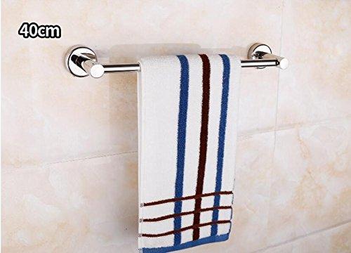 acciaio inossidabile 304 asciugamano rack asciugamano rack asciugamano bar Polo asciugamano,40cm