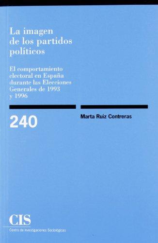 La Imagen De Los Partidos Políticos (Monografías)