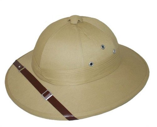 Kostümen Hut Safari (Safari Hat Beige Fancy Dress)