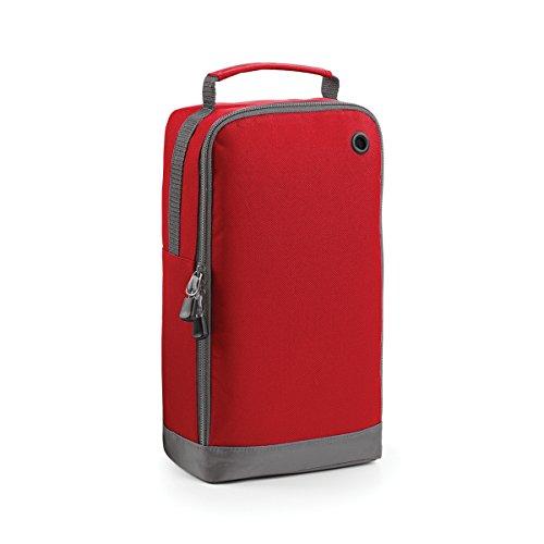 BagBase Borsa per Scarpe Portascarpe Athleisure sports 19x35x12cm 8L Fuchsia Classic Red