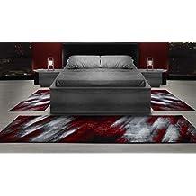 Bettumrandungen Läufer Teppiche Modern Designer Für Wohnzimmer, Esszimmer,  Gästezimmer, Schlafzimmer,kurzflor Meliert