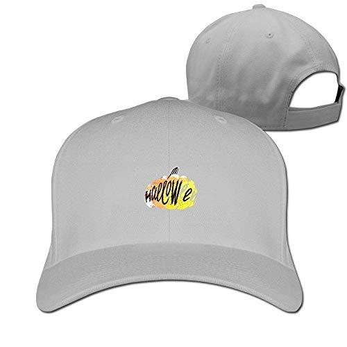 Classic Cotton Hat Adjustable Plain Cap, Pumpkins Plain Baseball Cap Adjustable Size Curved Visor Hat 391