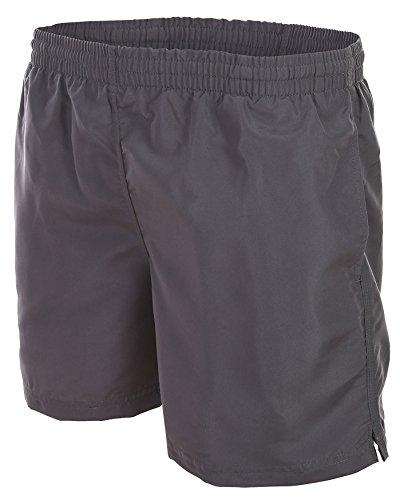 Herren Badehose Trachtenhose / Oktoberfest Badeshort Boardshorts Cool Lässig verschiedene angesagte Trendfarben Sommer Strand 1101-f4511 Grau