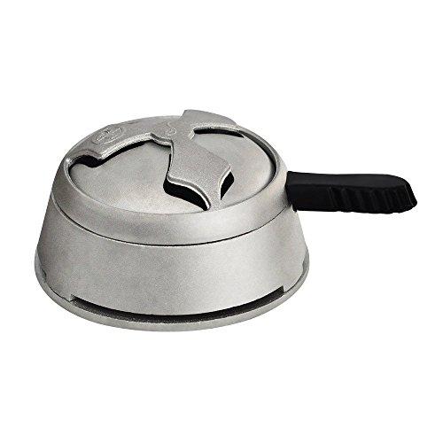 Regulador de Calor para Narguile Shisha Hookah Shisha Fumando Hookah Accesorios de Aleación de Aluminio...
