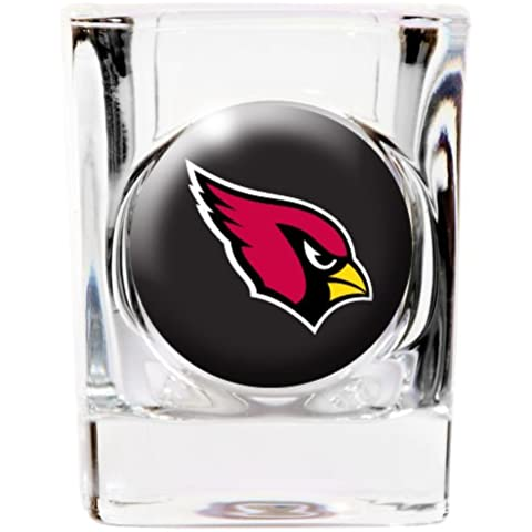 ARIZONA CARDINALS SQUARE OFFICIAL 2oz SHOT GLASS by NFL