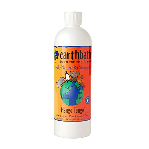 EarthBath All Natural Mango Tango Shampoo Conditioner for Pet Dogs Cats 16z