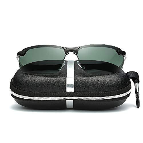 Pouch & Cross Set Unisex-Sonnenbrille mit polarisierten Gläsern von Wellington Accessoires (Color : Schwarz, Size : Kostenlos)