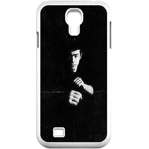 Samsung Galaxy S4 9500 Cell Phone Case White ha02 bruce lee film face SU821571