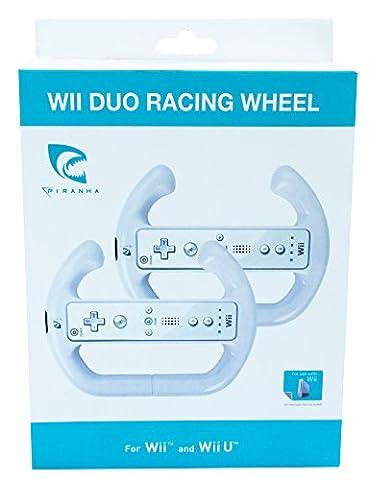 Wii, WiiU - Duo Racing Wheel (Wii Wheel)