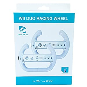 Wii, WiiU – Duo Racing Wheel