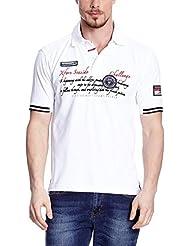 XFORE performance polo de golf Royal Oak à manches courtes chemise tech shirt pour homme en blanc