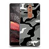 Head Case Designs Night Shift Militärische Tarnfarben Ruckseite Hülle für Nokia 5.1