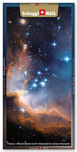 Preisvergleich Produktbild Grusskarte & Schweizer Premium Schokolade, Postkarte - Sternengeburt