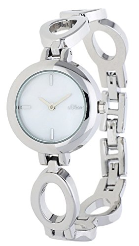 s.Oliver Women Watch silver SO-15087-MQR