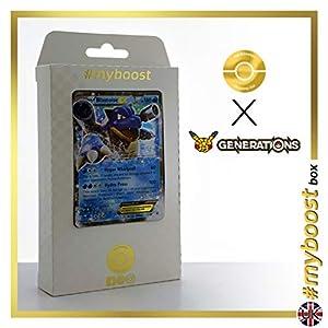 Blastoise EX 17/83 - #myboost X Generations XY - Caja de 10 Cartas Pokémon inglesas