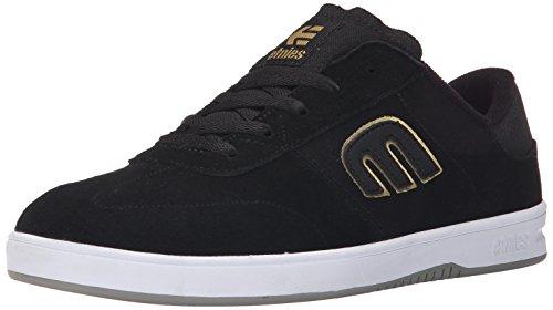 Etnies Lo-Cut Herren Skateboardschuhe Black (Black/Gold/Grey971)