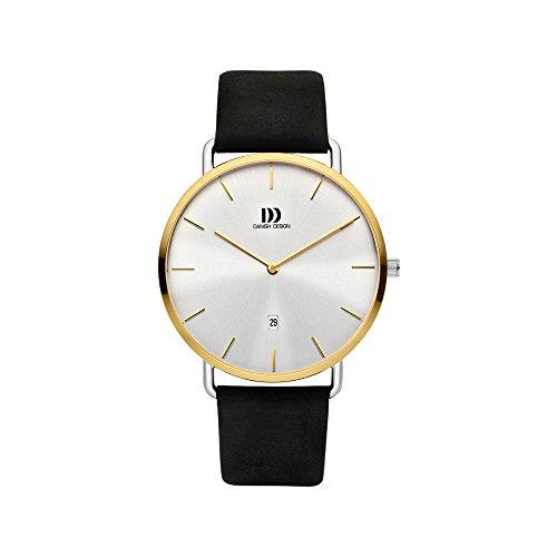 Danish Design Reloj Analógico para Hombre de Cuarzo con Correa en Cuero IQ11Q1244