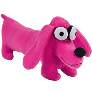 Vilac - Peluche Keith Haring - Chien : Rose