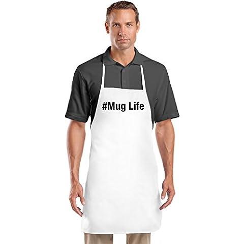 #Mug Life Grembiule da Cuoco Top Quality Chef's Apron| Custom