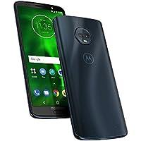 Motorola Moto G6 – Smartphone Libre Android (Pantalla DE 5.7'', 4G, Doble Cámara de 12MP, 3GB de RAM, 32GB, Dual Sim), Color Azul índigo