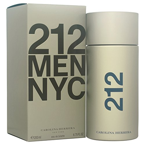 CAROLINA HERRERA 212 MEN agua de tocador vaporizador 200 ml