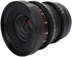 Meike Mk 16mm T2 2 Weitwinkel Objektiv Mit Großer Kamera