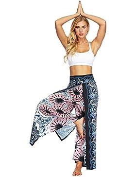 Nuevo!! Mujer Harem Hippy Pantaloni Cintura EláStica Bonzaai Pantalones