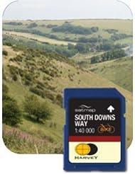 Satmap MapKarte: South Downs Way Cycling Map (HARVEY 1:40k)