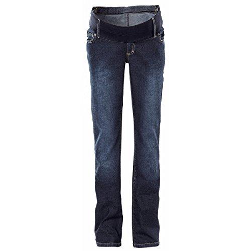 2HEARTS We love basics Umstands-Jeans Denim dunkelblau/Umstandshose/Schwangerschaftshose/Umstandsmode/Jeans für werdende Mamas (Unterbauch Umstandsjeans)