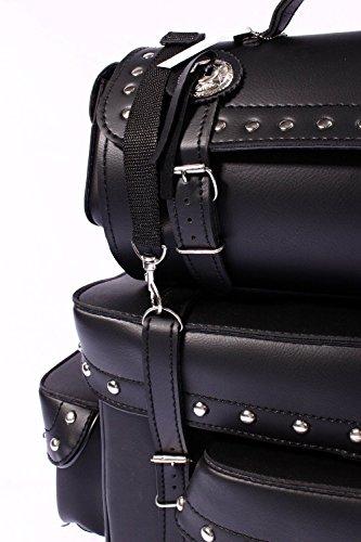 None - Portatrajes de viaje negro big
