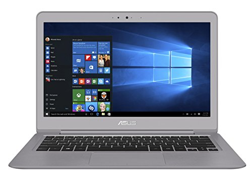 Asus Zenbook UX330UA-FC078T 33,7 cm (13,3 Zoll, mattes FHD) Notebook (Intel Core i5-7200U, 8GB, 256GB, Intel HD Graphics, Win 10 Home) schwarz
