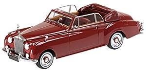 Minichamps Rolls Royce Silver Cloud II DHC, de Color Rojo Oscuro, 1.960 Modelo de Coche, Modelo prefabricado, Cuarenta y Tres Minutos Modelo Exclusivamente de Colección