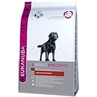 Eukanuba Breed Specific Hundefutter/Trockenfutter in der Geschmacksrichtung Huhn speziell für ausgewachsene Labrador Retriever/1 x 12 kg Beutel