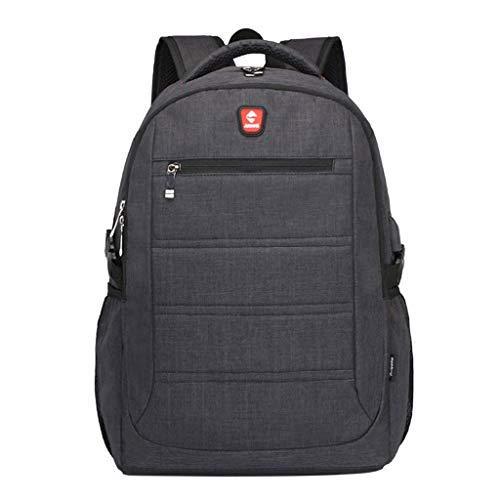 VECOLE Rucksäcke Damen Herren 2019 Neue Multifunktionale Business Laptop Tasche wasserdicht lässig Rucksack Outdoor-Reise Studentenrucksack(Black)