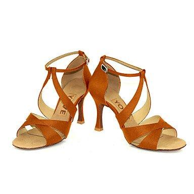XIAMUO Anpassbare Frauen Beruf Tanz Schuhe Lila
