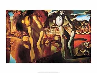 Kunstdruck/Poster: Salvador Dalí Metamorphose des Narziß, 1936-1937